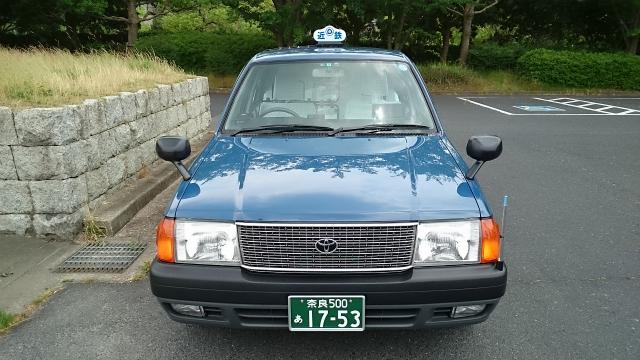 一般タクシー(小型)の正面