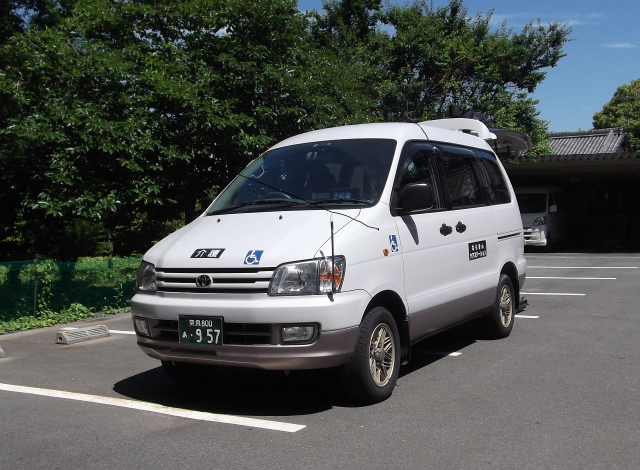 介護タクシー(車いす対応)の紹介