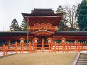 法隆寺方面から世界文化遺産コース