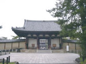 法隆寺方面から西の京コース
